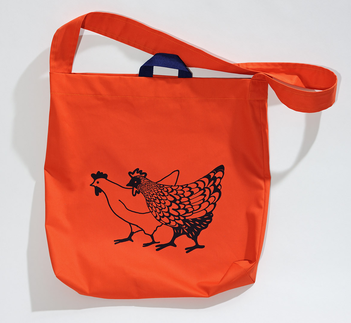 2 Chooks shopping bag